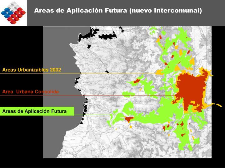 Areas Urbanizables 2002