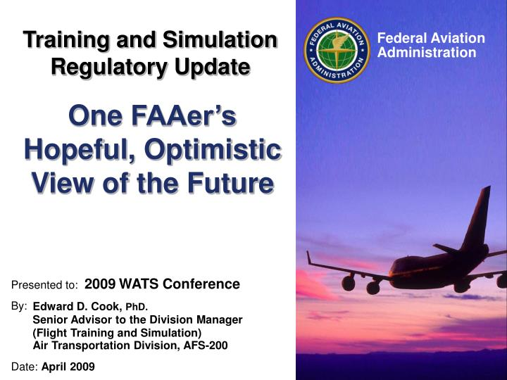 a research on the air transportation industry and the federal aviation administration