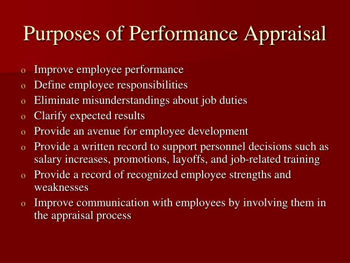 term paper on performance appraisal and improvement Appraisal by essay appraisal by essay is a more subjective manner of evaluation than that based on production instead of simply measuring numbers, it offers a written critique from managers or hr.