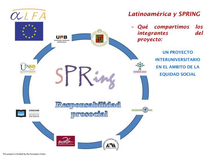 Latinoamérica y SPRING