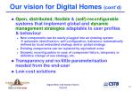 our vision for digital homes cont d