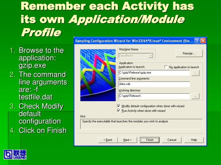 Remember each Activity has its own