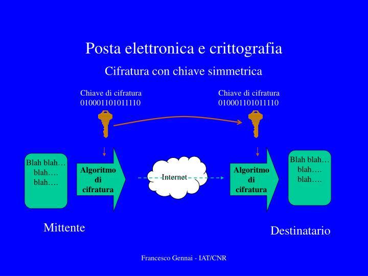 Posta elettronica e crittografia2