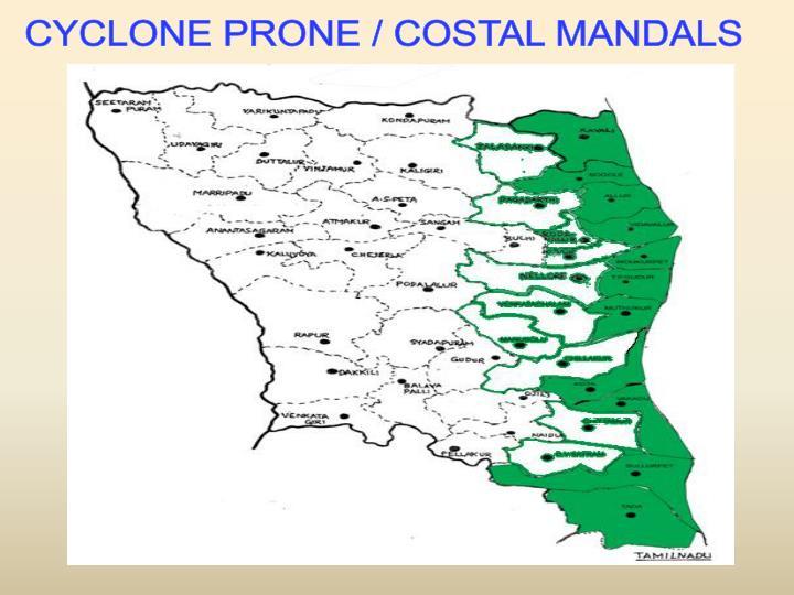 CYCLONE PRONE / COSTAL MANDALS