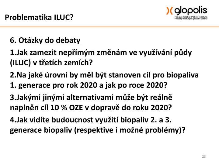 Problematika ILUC?
