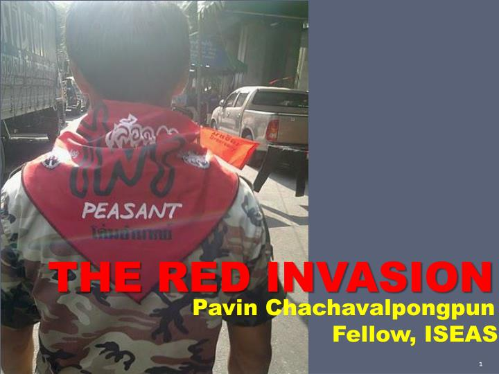 THE RED INVASION