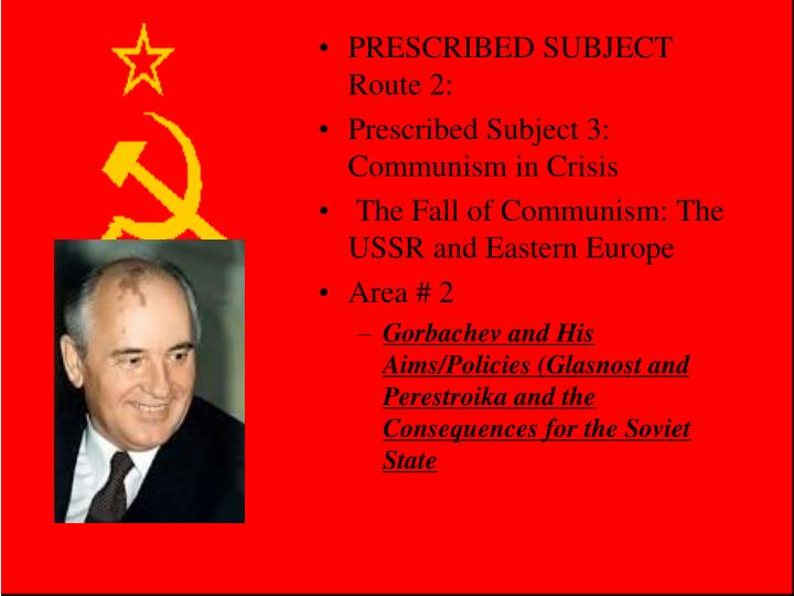 an analysis into the fall of communism in the soviet union