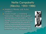 nellie campobello mexiko 1900 19864