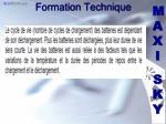 formation technique1