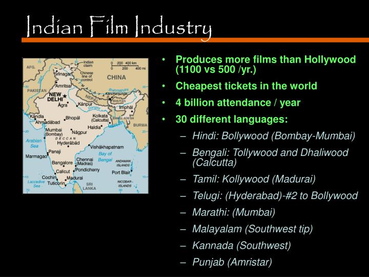 PPT - Indian Film Industry PowerPoint Presentation - ID:4756041