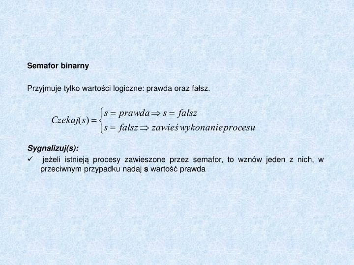 Semafor binarny