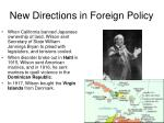 new directions in foreign policy1
