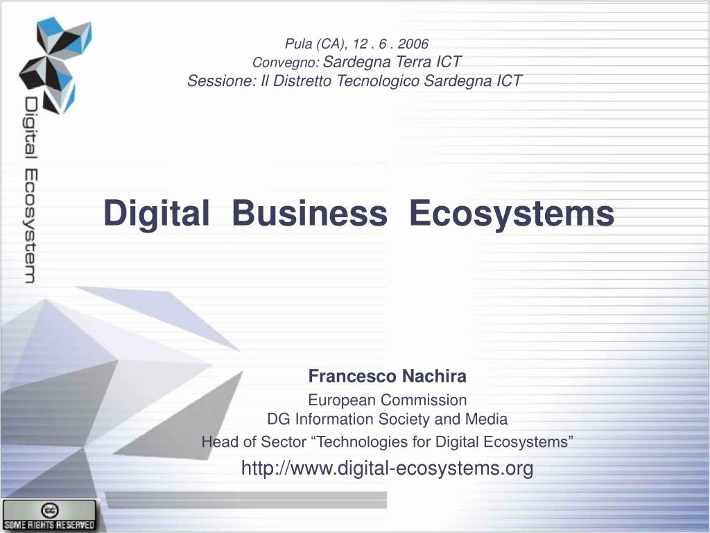 Ppt Digital Business Ecosystems Powerpoint Presentation Free Download Id 4756461