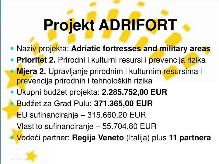Projekt ADRIFORT