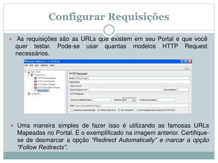 Configurar Requisições