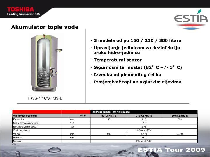 Akumulator tople vode