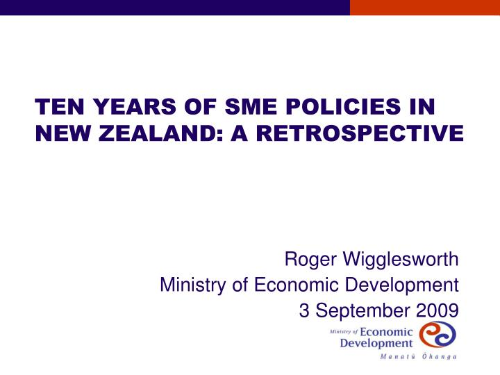 effect of new zealand government of economic development A whole new segment of the future workforce would add newly obtained skills and training for the globalization era a comprehensive provision of an investment by congress would create thousands of new jobs, substantially government deficits can have both positive and negative effects.