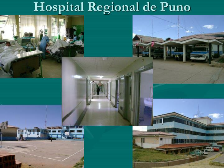 Hospital Regional de Puno