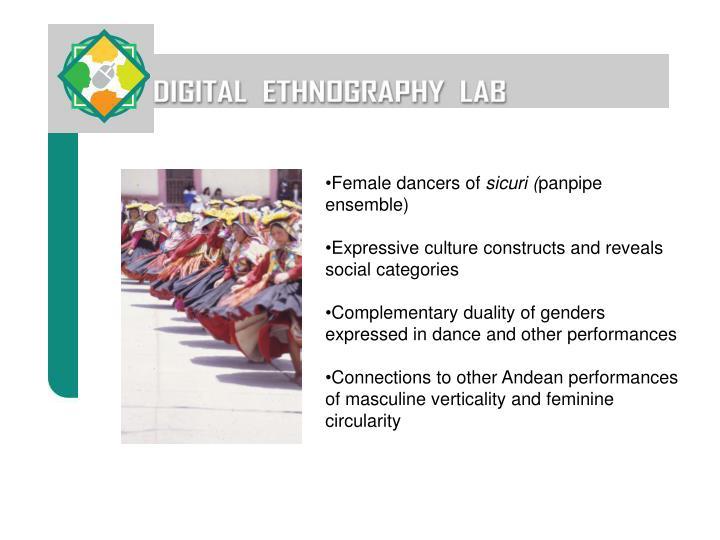 Female dancers of