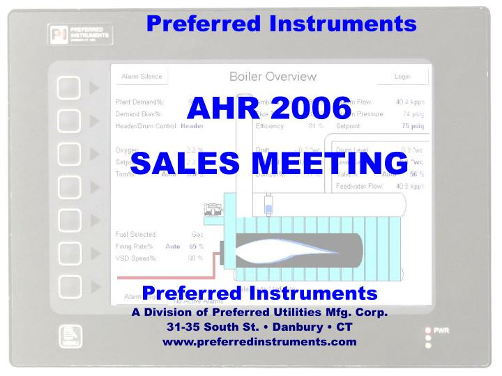 preferred instruments n.