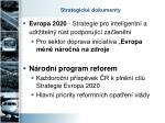 strategick dokumenty