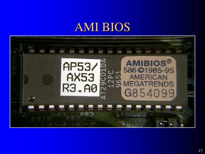 AMI BIOS