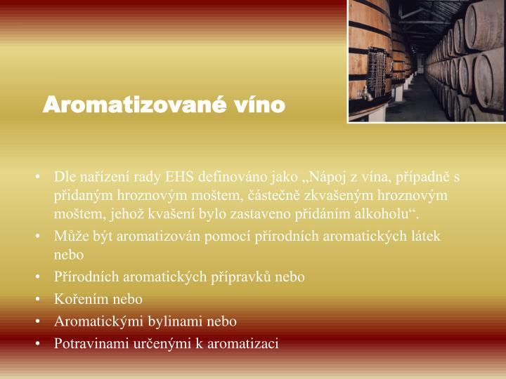 Aromatizované víno