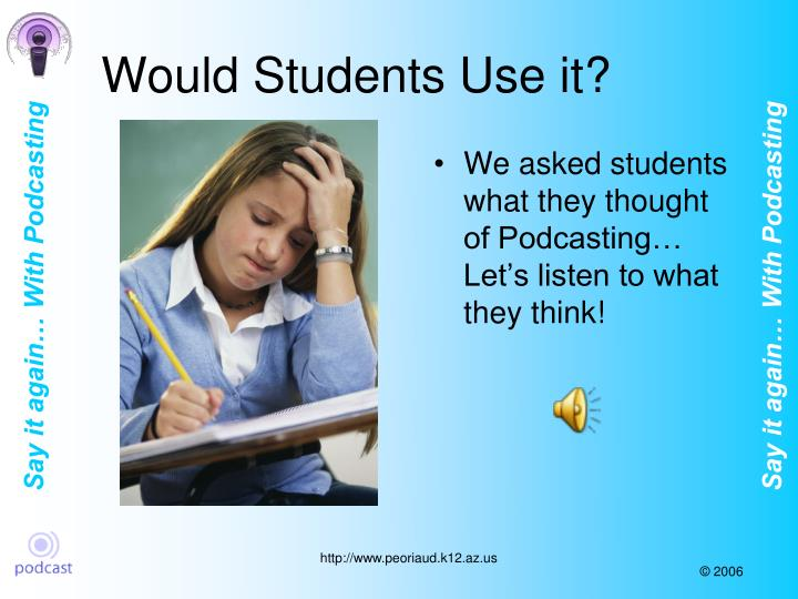 Would Students Use it?