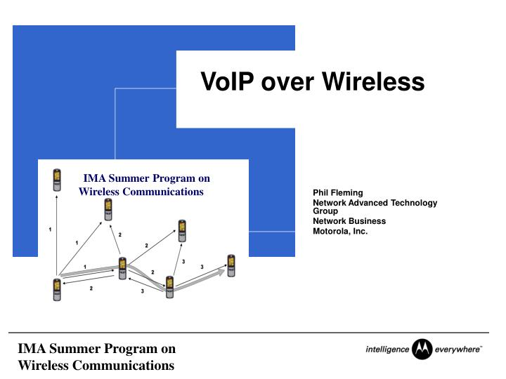 voip over wireless n.