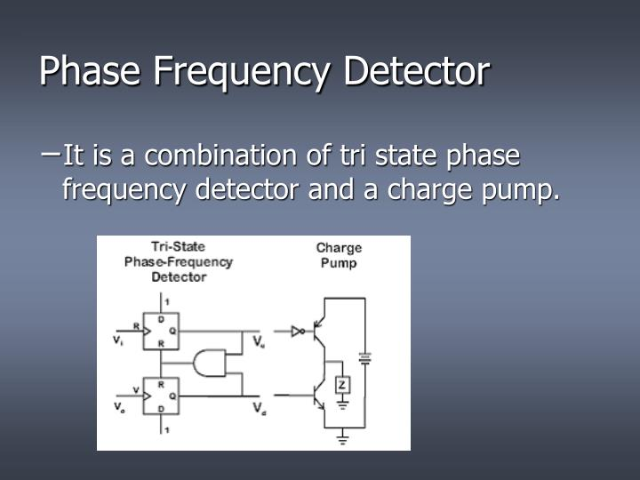 Phase Frequency Detector