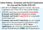 united nations economic and social commissions for asia and the pacific escap