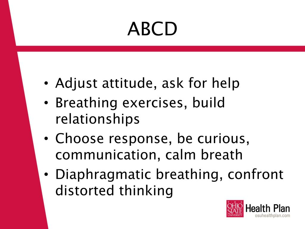 PPT - The ABC ' S of Stress Management PowerPoint ...