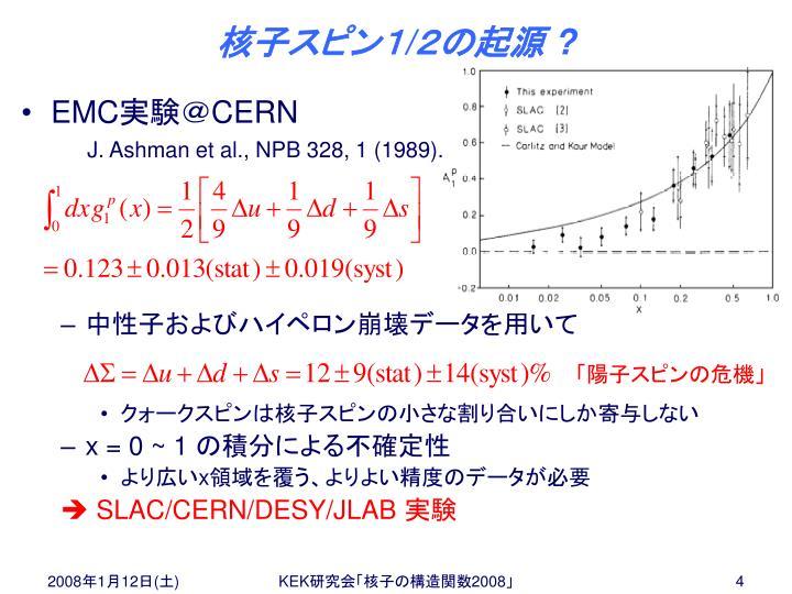 核子スピン1