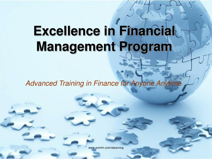 excellence in financial management Financial management nonprofits have an obligation to act as responsible stewards in managing their financial resources nonprofits must comply with all legal and financial requirements and should adhere to sound accounting principles that produce reliable financial information, ensure fiscal responsibility and build public trust.