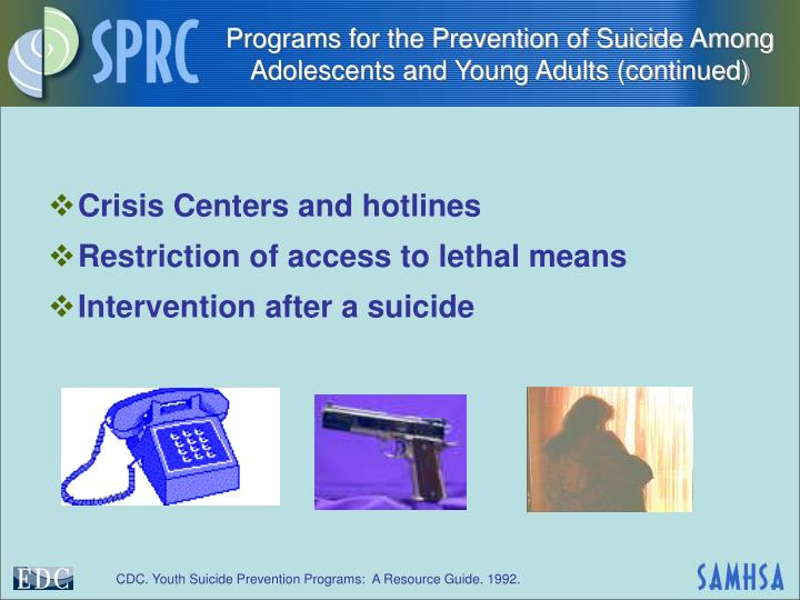 suicide among adolescents