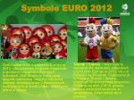 symbole euro 2012