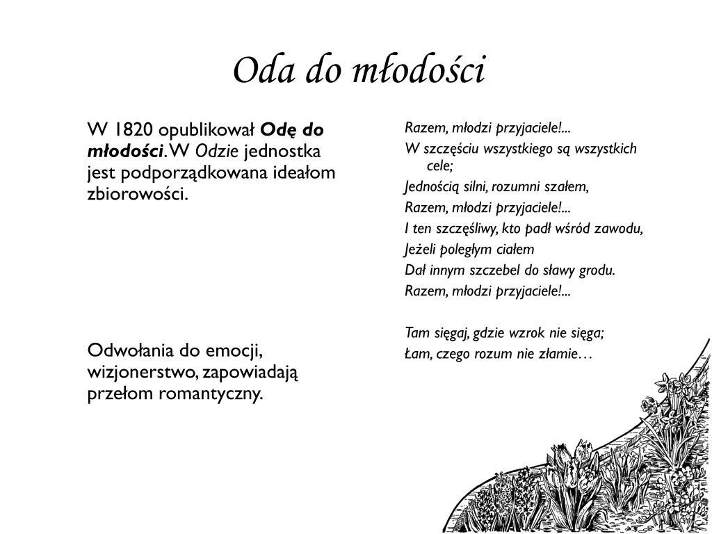 Ppt Adam Mickiewicz życie I Twórczość Powerpoint