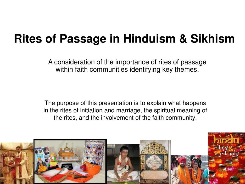 importance of rites of passage
