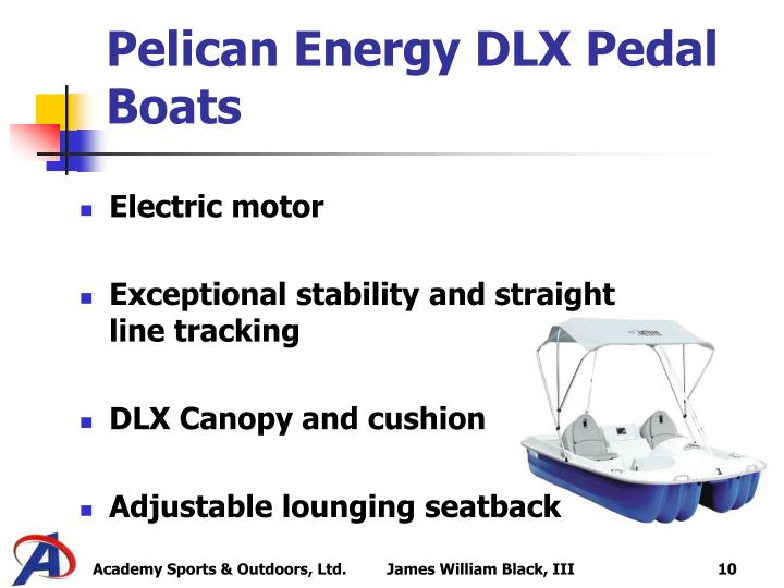 Pelican Energy DLX Pedal Boats