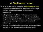 4 studi case control