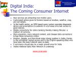 digital india the coming consumer internet