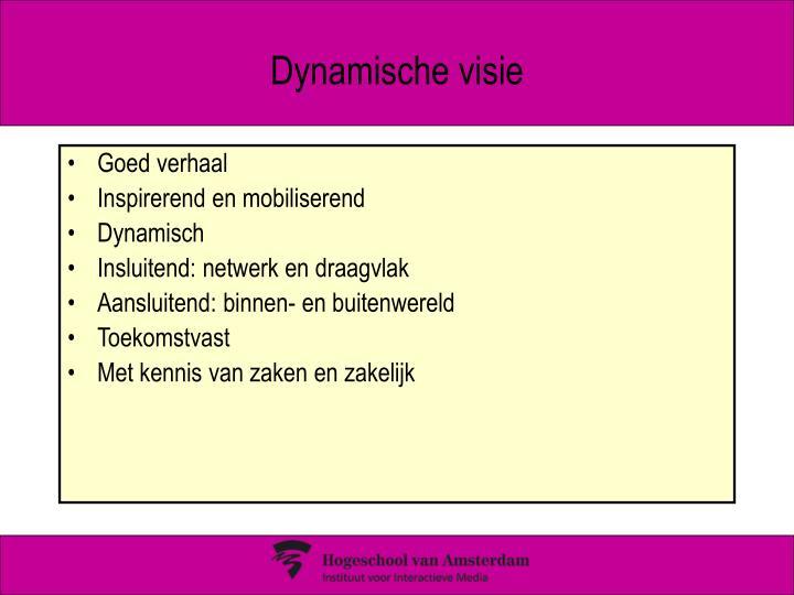 Dynamische visie