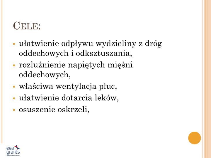 Cele: