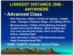 longest distance sm anywhere1