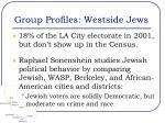 group profiles westside jews1