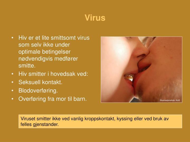 virus smitte