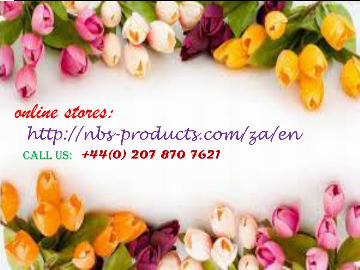 online stores: