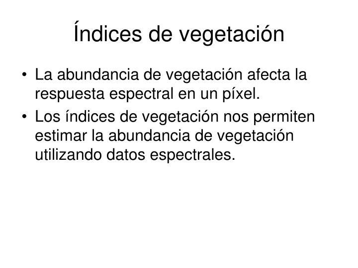 Ndices de vegetaci n1
