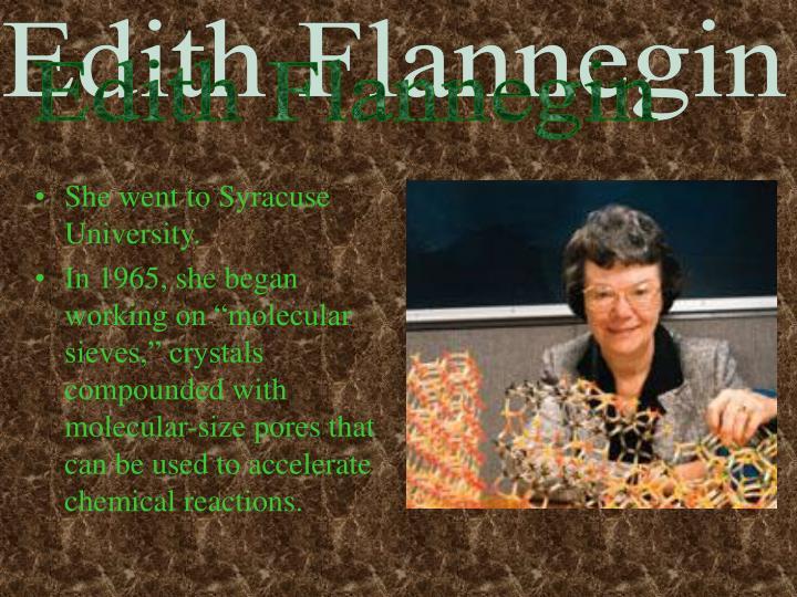 Edith Flannegin
