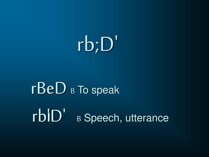 rb;D'